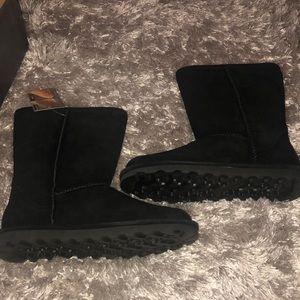 Bear paw women's boots black size 10